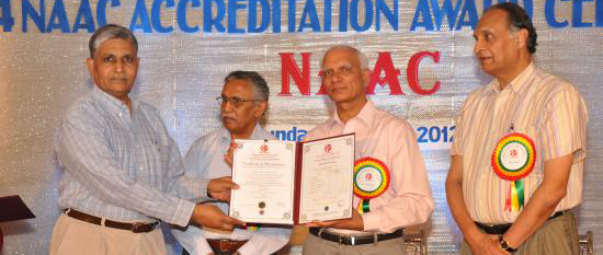 NAAC Accreditated MGIMS 'A' Grade