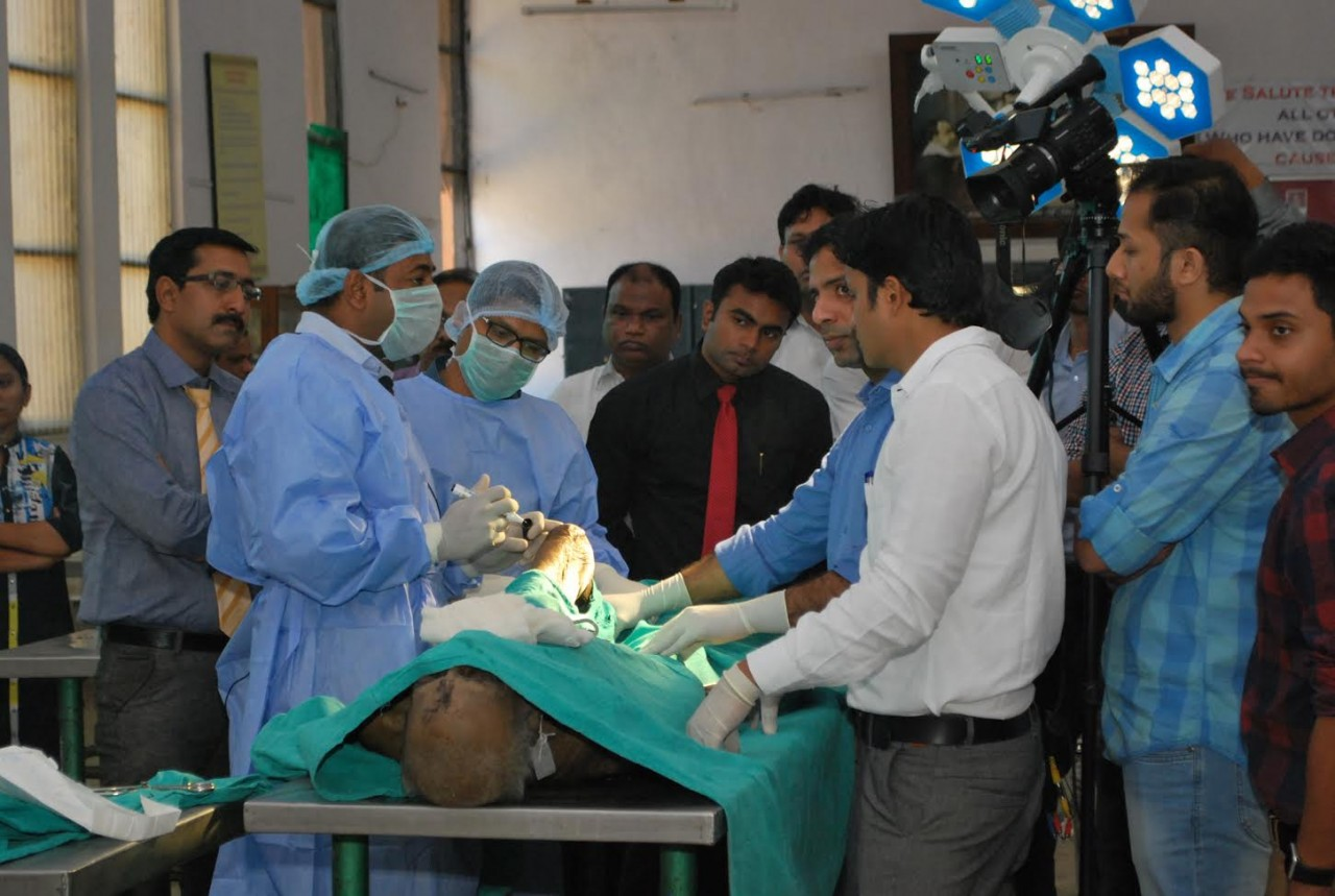 Workshop on Cadaveric Knee Dissection and Arthroscopy
