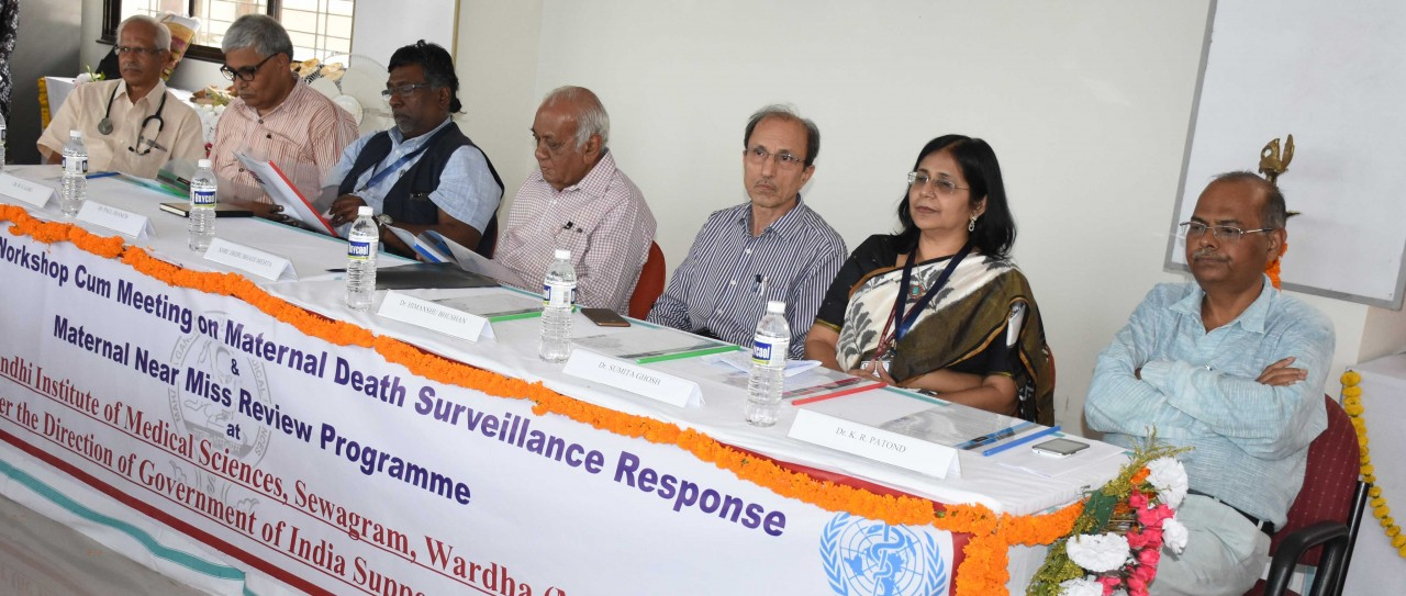 MGIMS organizes a Workshop on Maternal Deaths