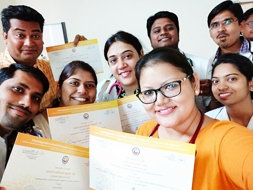 Certificates of Diabetes Course distributed