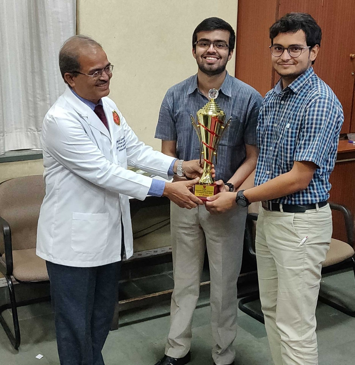 MGIMS secures first position in National Orthopedics quiz