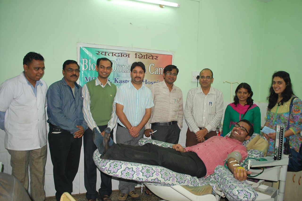 Blood Donation Camp held in the memory of late Dr Sushila Nayar