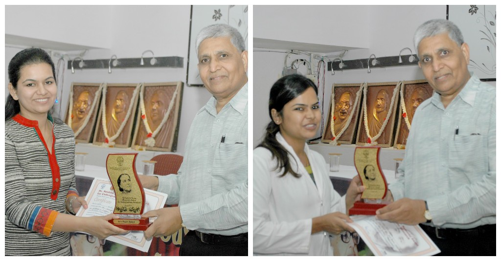Dr Sushila Nayar Memorial Award for Best Undergraduate Research