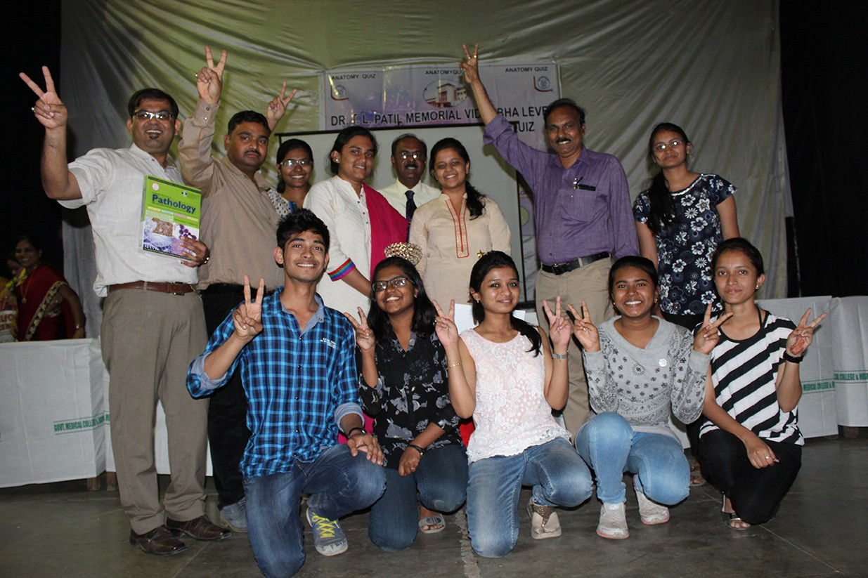 MGIMS wins the 4th Dr TL Patil Memorial Anatomy Quiz