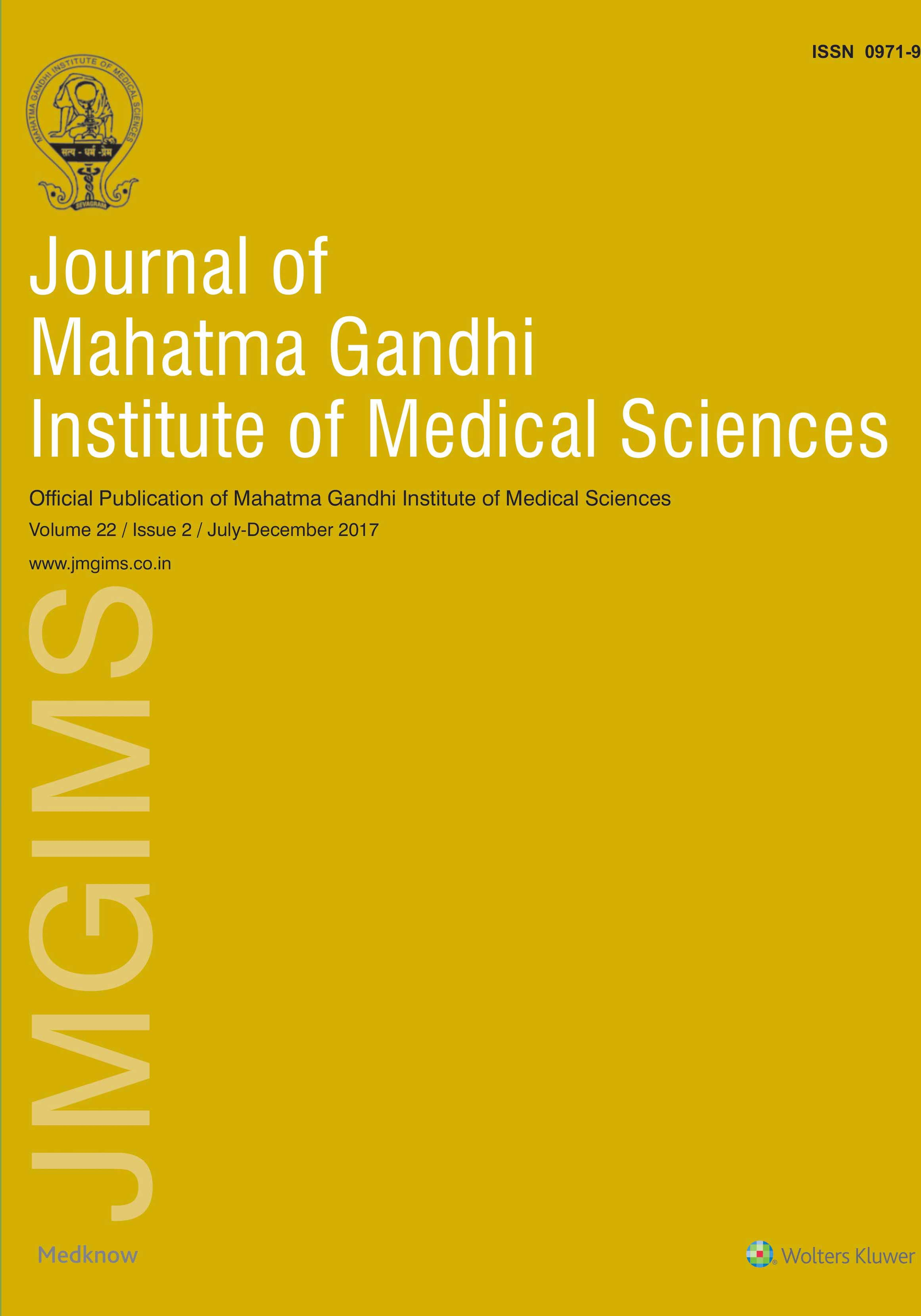 Journal of MGIMS